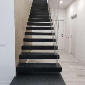 Granit negru in Bucuresti