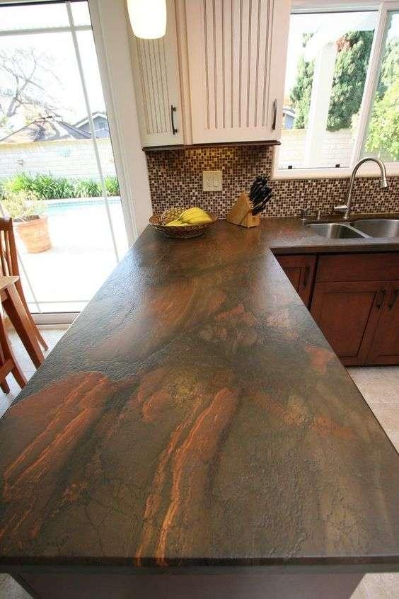 montaj blat granit Copper Dune Voluntari Rocas Decor