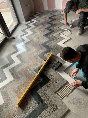 montaj granit interior Bucuresti