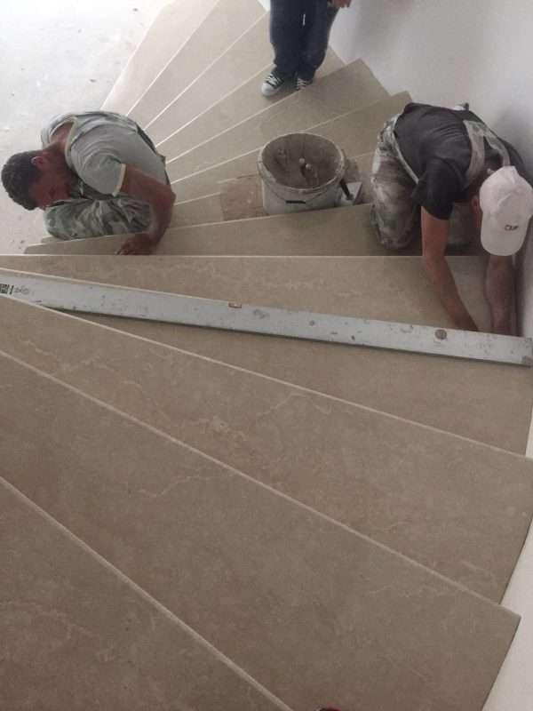 montaj scari de marmura Voluntari Rocas Decor